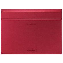 "Samsung Galaxy Tab S 10.5"" Book Cover Case (rød)"