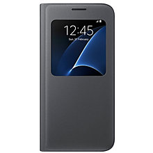 Samsung Galaxy S7 S-View Cover Black