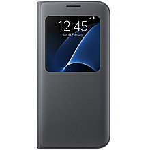 Samsung Galaxy S7 Edge S-View Cover Black