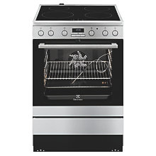 ELECTROLUX COOKER INDUCTION MP 72L STEEL