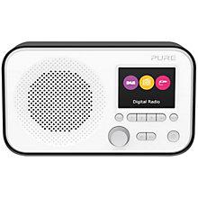 PURE DAB FM RADIO BLACK