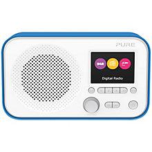PURE DAB FM RADIO BLUE