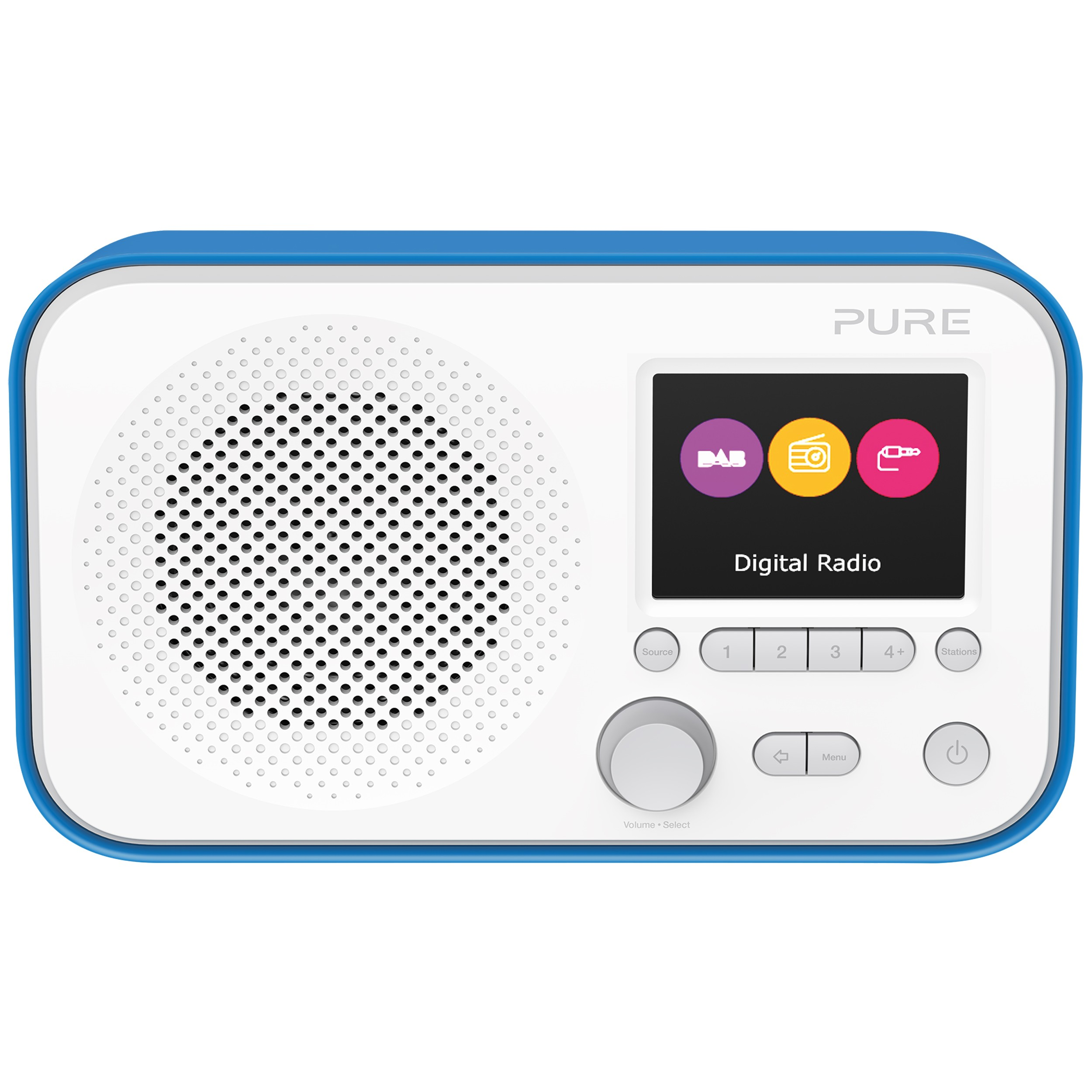 VL-62953 : Pure Elan E3 portabel DAB-radio (blå)