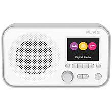 PURE DAB FM RADIO GREY