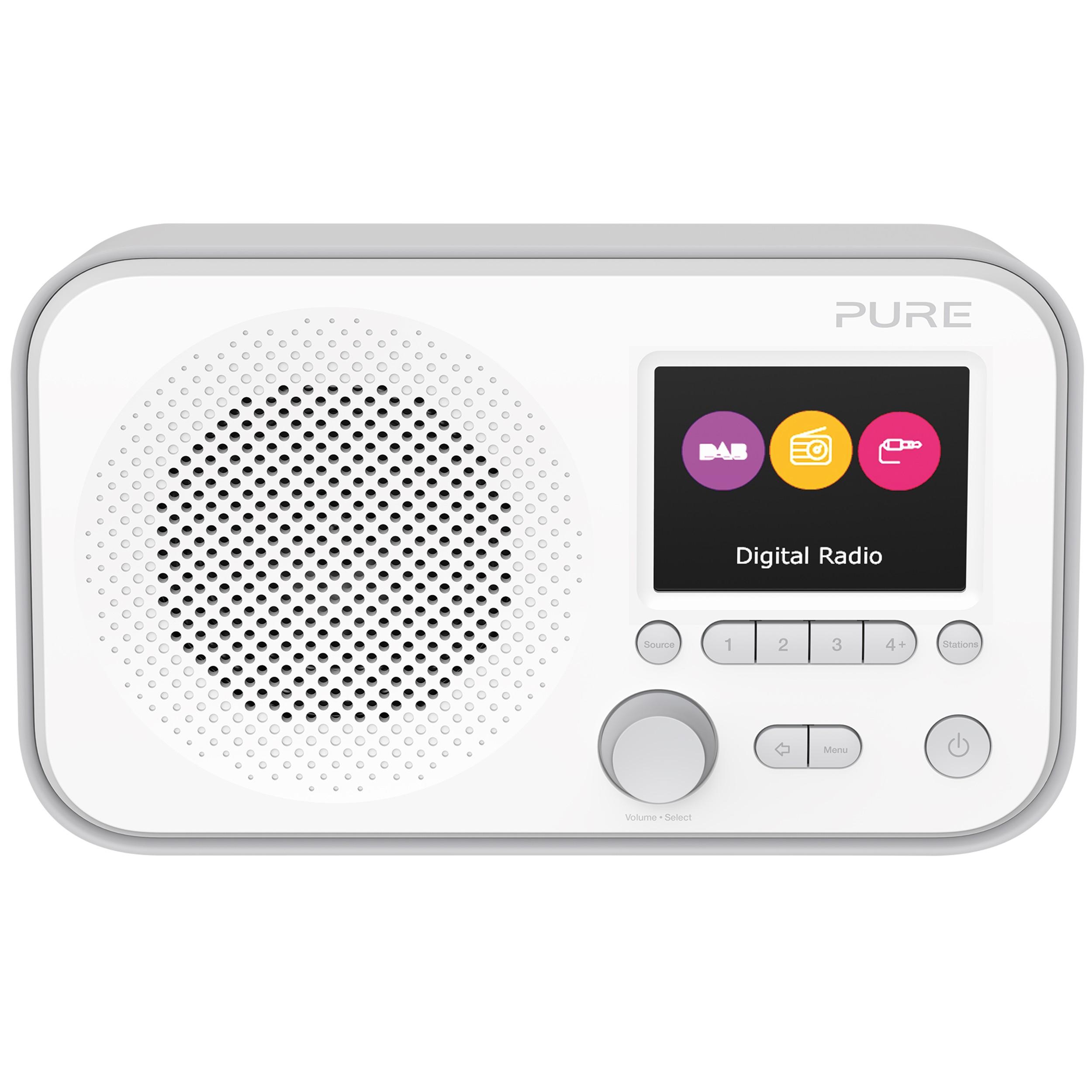 VL-62947 : Pure Elan E3 portabel DAB-radio (grå)