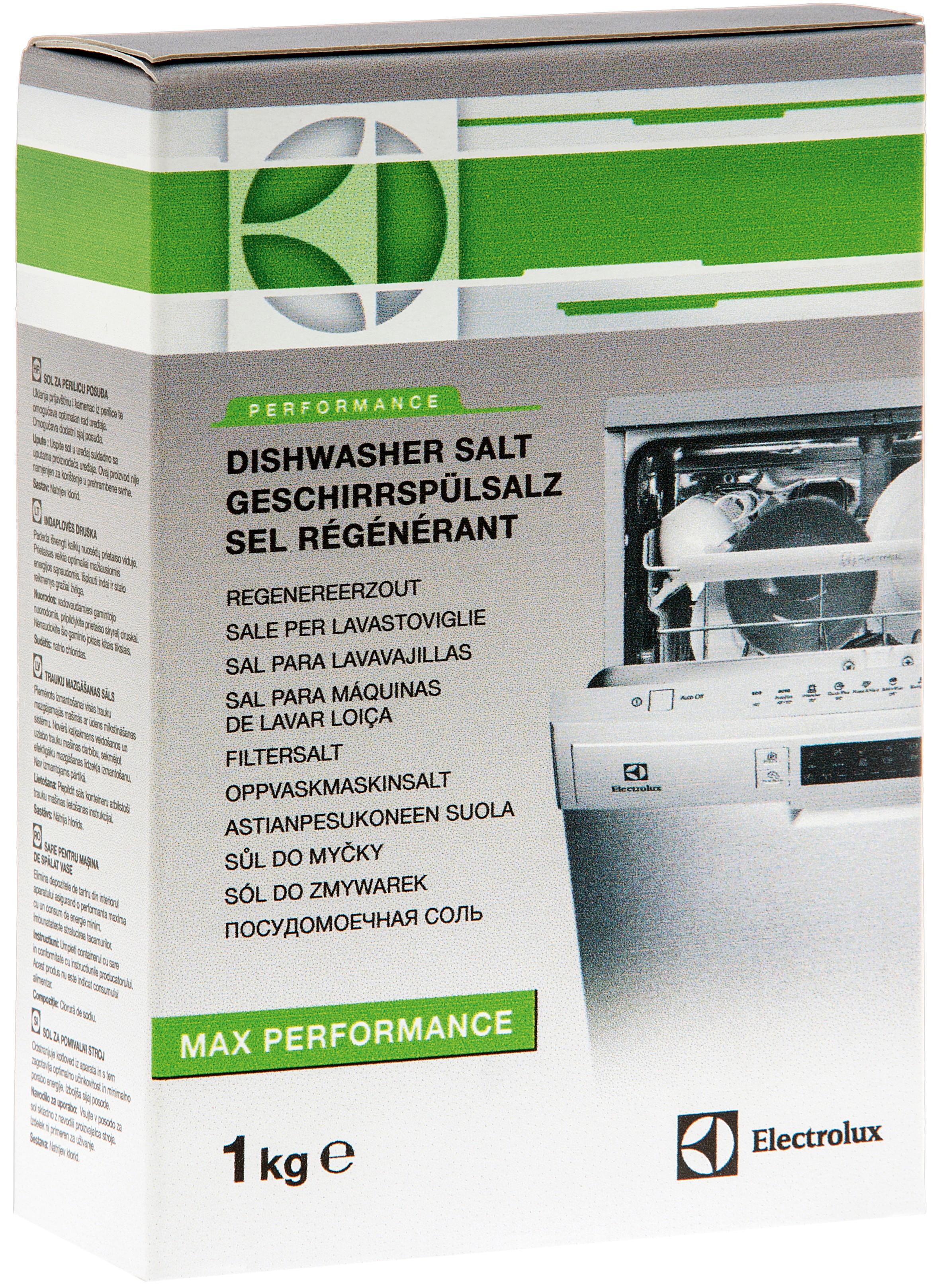 ELECSALT : Electrolux salt til oppvaskmaskin 1 kg