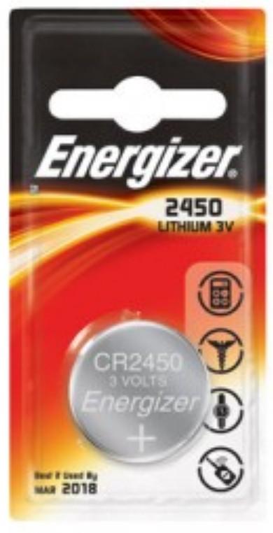 235251 : Energizer spesialbatteri CR2450 (1 stk)