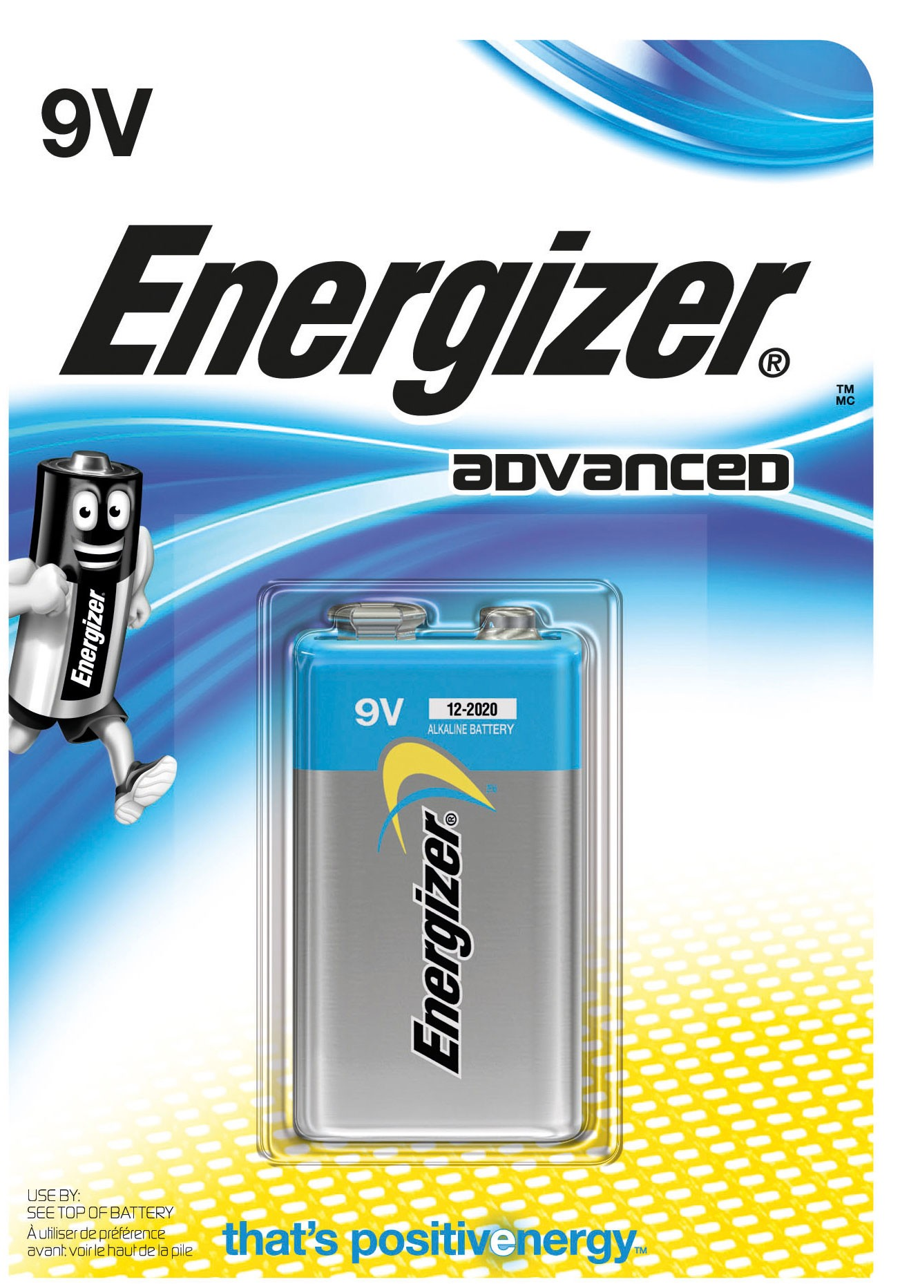 235376 : Energizer 9V/6LP61 Eco batteri