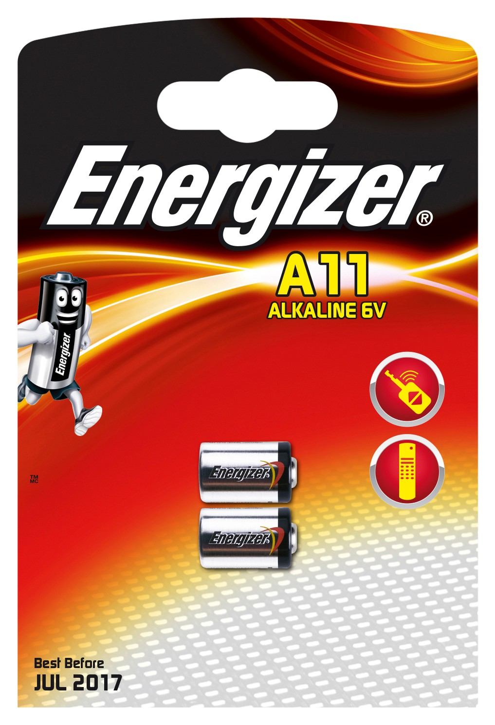 235423 : Energizer A11/E11A Alkaline batterier (2 stk)