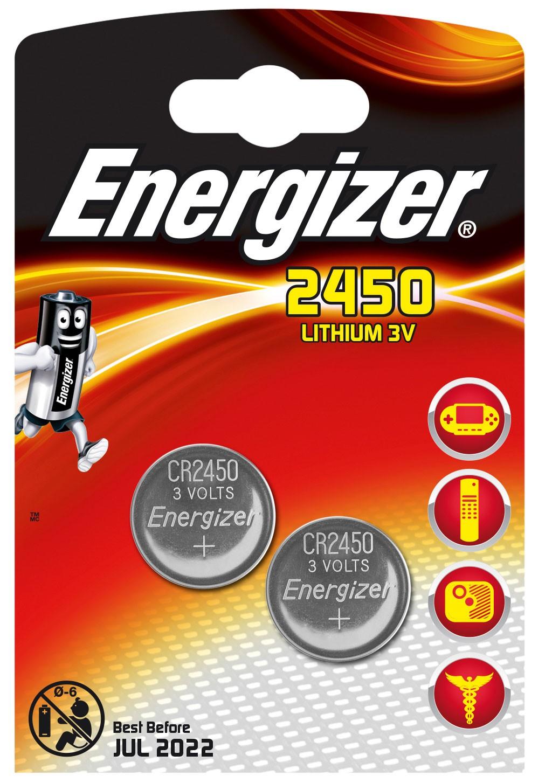 235474 : Energizer CR2450 Litium batteri (2 stk)