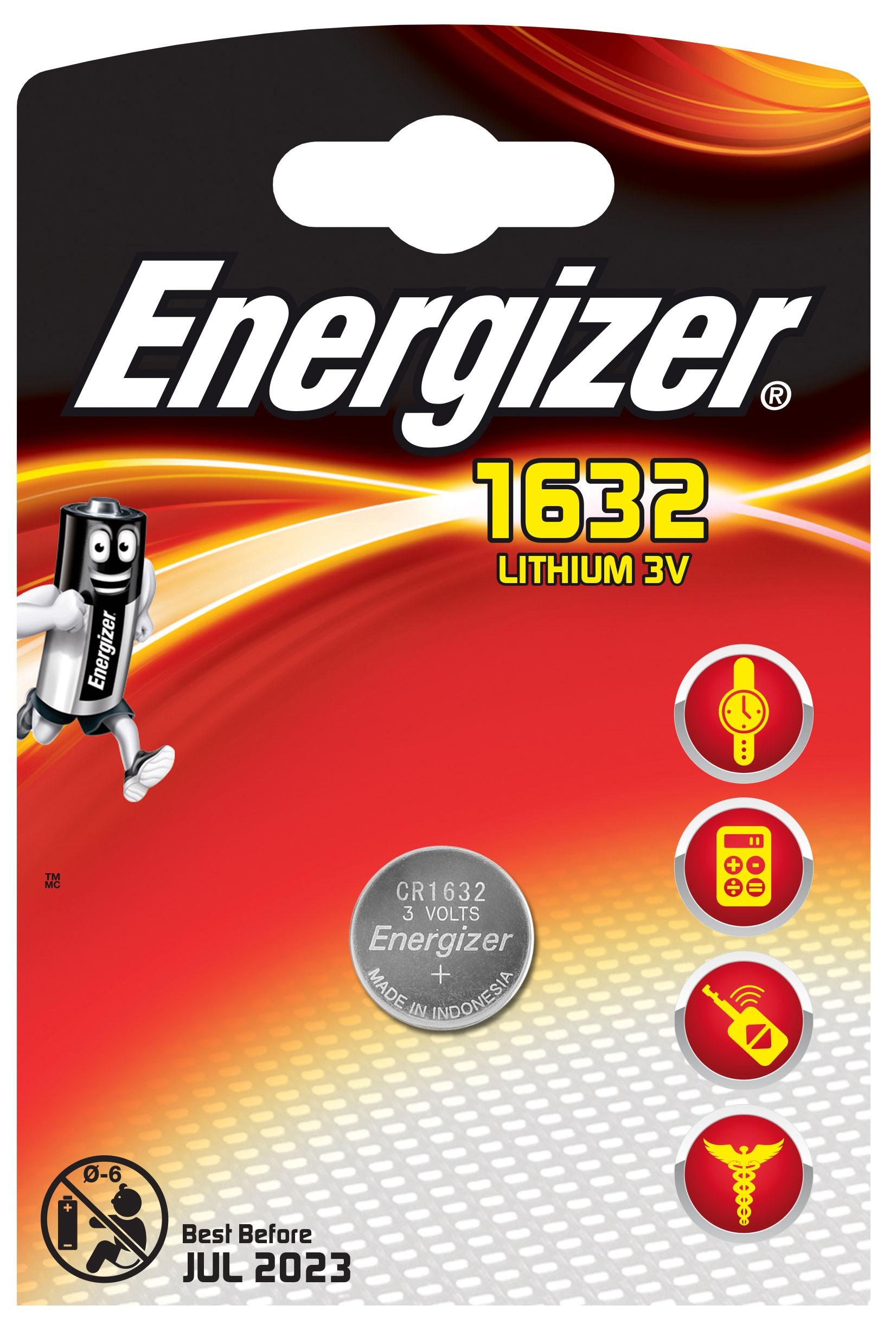 235475 : Energizer CR 1632 Lithium 1 pakk