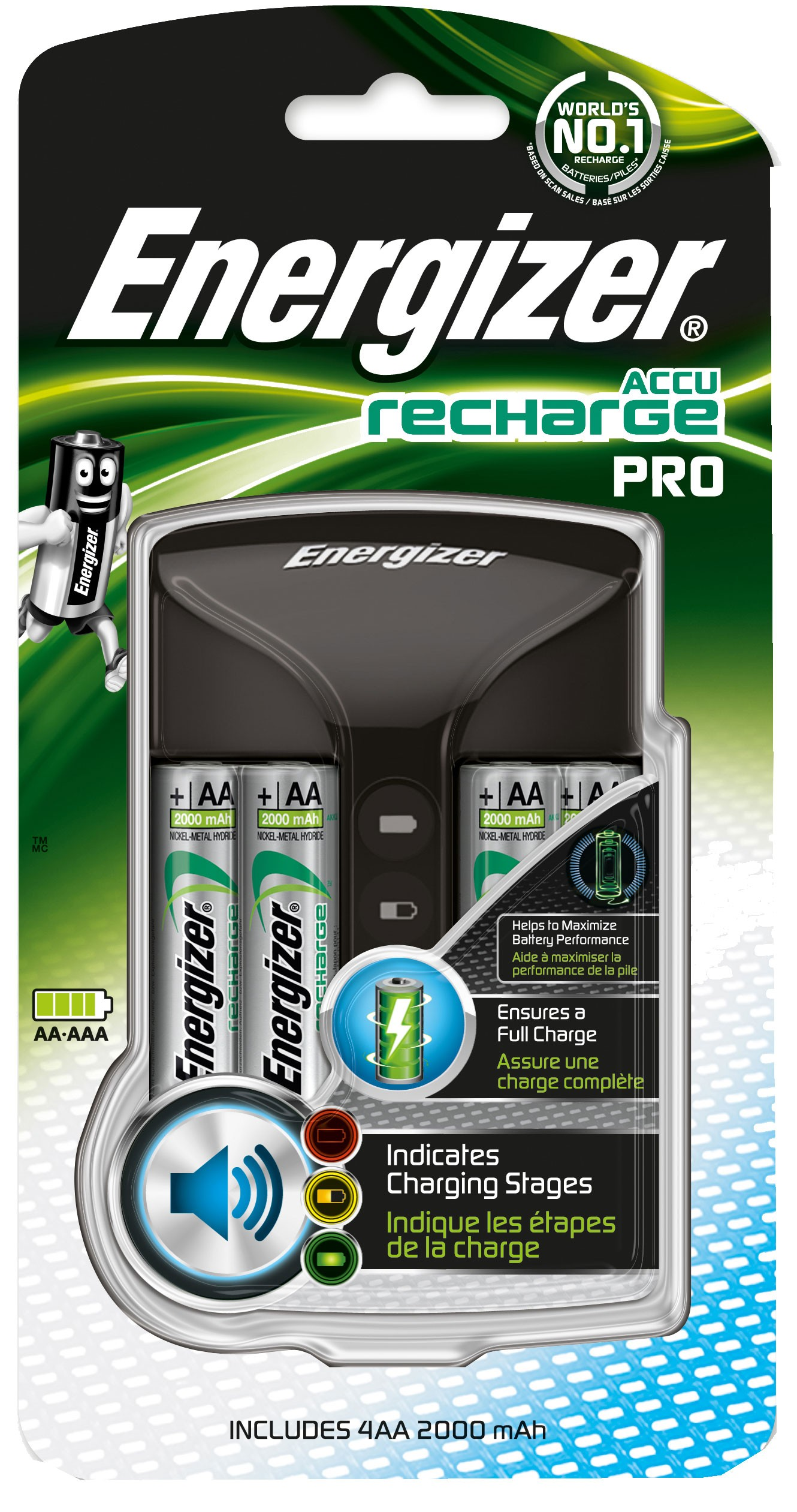 235487 : Energizer Procharger 4x AA 2000mAh