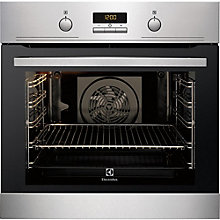 ELECTROLUX BUILT IN OVEN STEEL