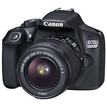 CANON EOS 1300D 18-55MM IS BATTERY KIT