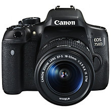 Canon EOS 750-D 18-55 IS