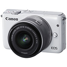 CANON EOS M-10 15-45MM KIT WHITE