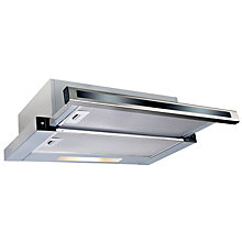 ECOTRONIC HOOD SLIM TELESCOPIC 60CM SLIDE SWITCH