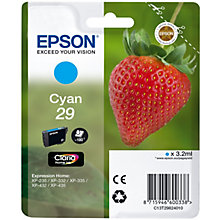 Epson Claria Home 29 blækpatron - cyan