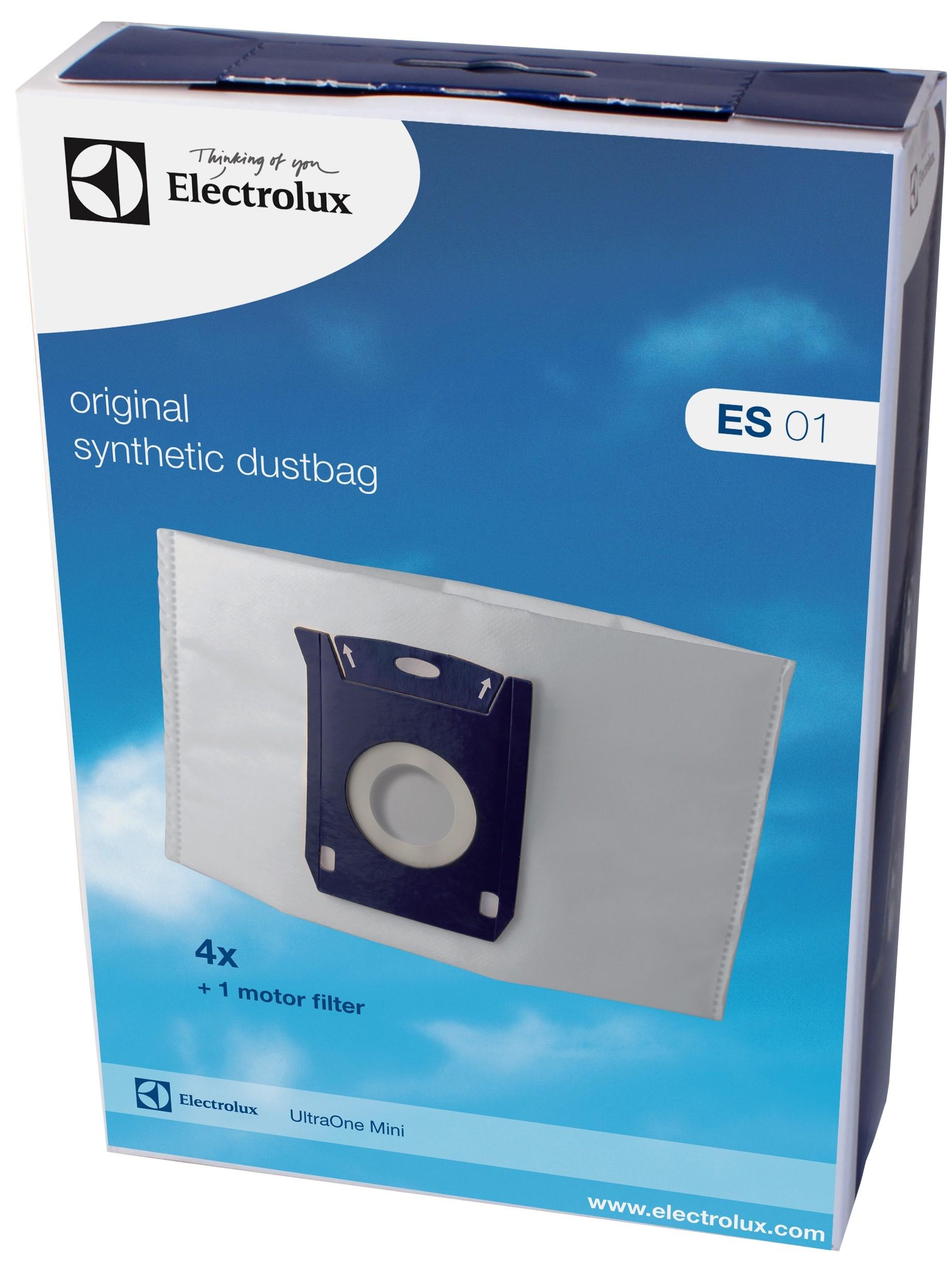 207475 : Electrolux UltraOne Mini støvsugerpose ES 01