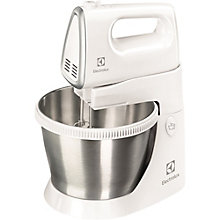 ELECTROLUX HAND MIXER WITH BOWL WHITE