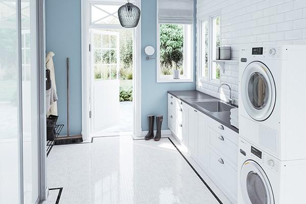 Fassett-serien passar bra till kök och tvättstugor