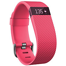 Fitbit Charge HR Heart Rate Pink Large