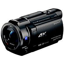 SONY FDR-AX33 4K BLK