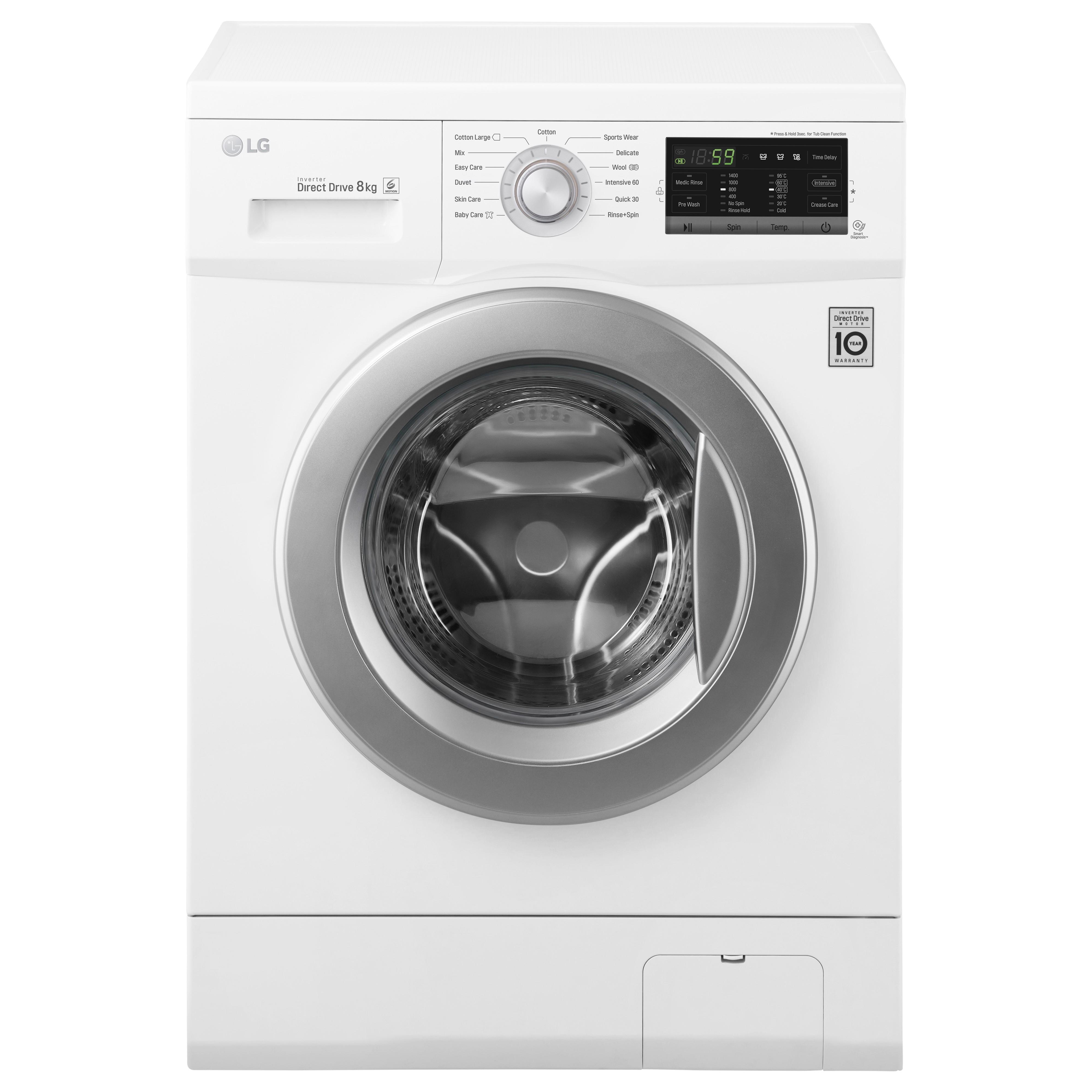 LG Tvättmaskin FH4G7TDN1 - Tvättmaskin - Elgiganten
