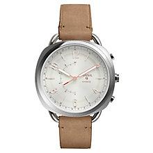 Fossil Q Hybrid smartwatch (kvinder - læderbrun)