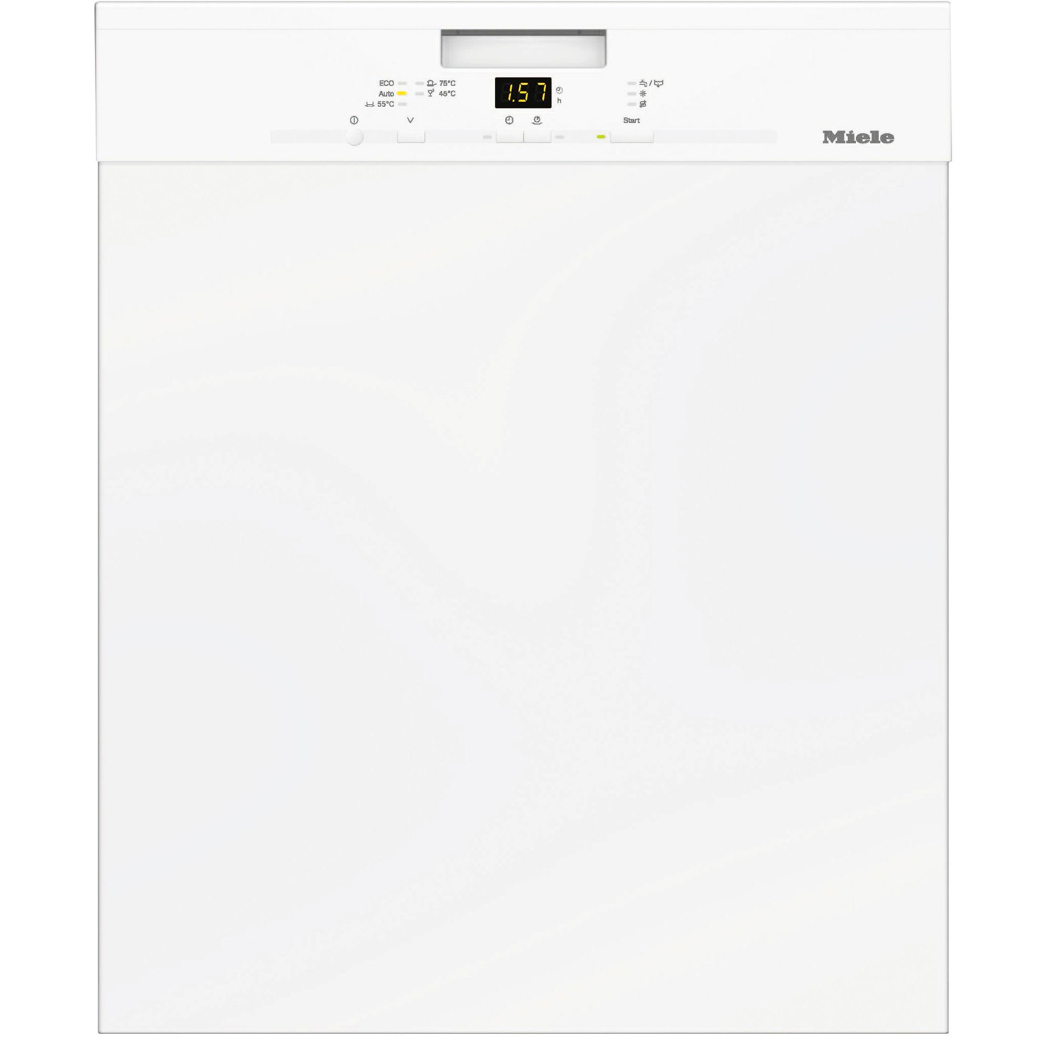 G4914SCUWHITE : Miele oppvaskmaskin G4914SCUWHITE (hvit)