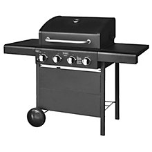 Gas BBQ Meteor 4B. Black edition