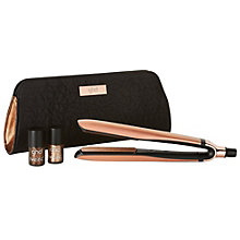 GHD Copper luxe platinum style premium gold