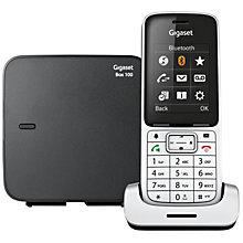 Gigaset SL450 trådløs telefon - sølv/sort