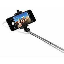 Goji Wired Selfie Stick Black