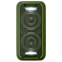 Sony højtaler GTKXB5G - grøn