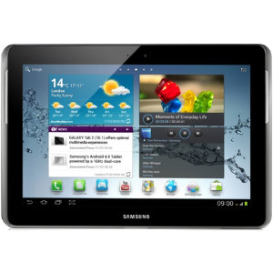 "Samsung Galaxy Tab 2, 10.1"" 16GB WiFi (sort/sølv)"