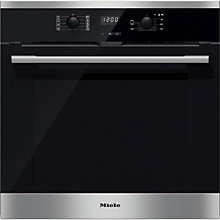 MIELE OVEN PYROLYTIC 74L STEEL