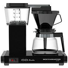MOCCAMASTER COFFEEMAKER BLACK