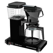 Moccamaster kaffemaskine HB 741 AOB - sort