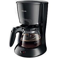 PHILIPS COFFEE MAKER BLACK