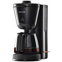 PHILIPS COFFEEMAKER BLACK