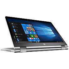 "HP Pavilion x360 14-ba102no 14"" 2-in-1 (sølv)"