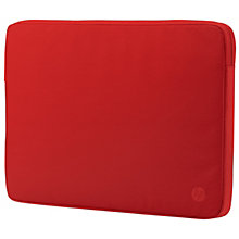 "HP 14"" sleeve red"
