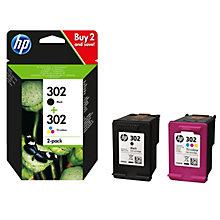 HP 302 Ink Cartridge Combo 2-P