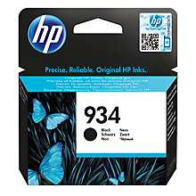 HP 934 blækpatron - sort