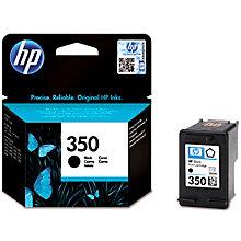 HP 350 blækpatron - sort
