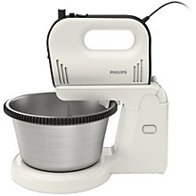 PHILIPS MIXER WITH BOWL 750W 3,4L WHITE