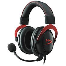 HYPERX CLOUD II RED GAMING HEA