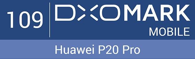 Huawei P20 Pro DxO mark