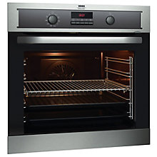 VOSS OVEN PYROLYTIC DISPLAY STEEL